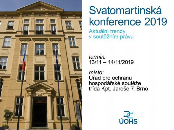 Svatomartinská konference 2019 pozvánka